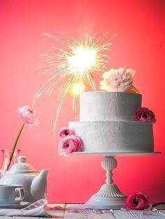 Свадебный торт. Кремовое оформление