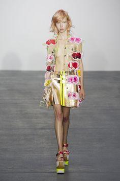 Fyodor Golan at London Fashion Week Spring 2016 - Livingly