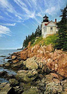Karen Jorstad - Bass Harbor Lighthouse V