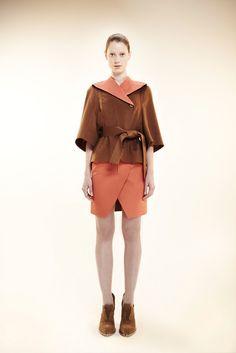 Alexandre Herchcovitch Pre-Fall 2012 Fashion Show - Fabiana Mayer