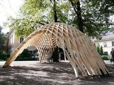 """Gallery of Venice Biennale 2012: Finnish Pavilion presents """"New Forms in Wood""""…"""