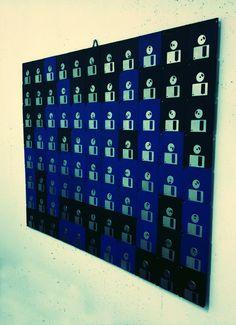 Space floppy Invaders @Filippo Scaboro