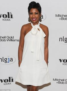 Opening up: Today show anchor Tamron Hall has revealed why she decided to start publicly speaking about her older sister Renate's murder. The journalist is pictured at a benefit in March