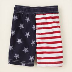 baby boy - swimwear - Americana swim trunks | Children's Clothing | Kids Clothes | The Children's Place