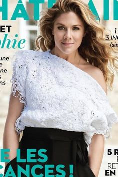 Sophie Grégoire Trudeau Wears Beaufille On The Cover Of Châtelaine, June 2016.