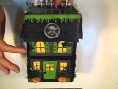 Haunted House Exploding Box - YouTube