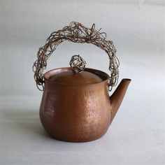 ..focus..damn it! | jurgen-lehl-for-babaghuri:   Water kettle. Hand...