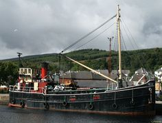 File:J M Briscoe - Clyde puffer VIC32 moored at Corpach.jpg