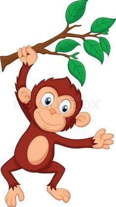 free monkey clip art images cute baby monkeys dey all axed for rh pinterest com clip art monkey images clipart monkey