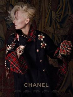 Tilda Swinton for Chanel - Perfection