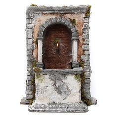 Fontana Per Il Presepe.98 Fantastiche Immagini Su Fontane Presepe Parete Di