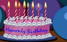 Happy Birthday Wish in Heaven | BIRTHDAY UP IN HEAVEN