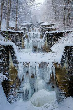 Winterstimmung auf der Alp Chueweid in Gams
