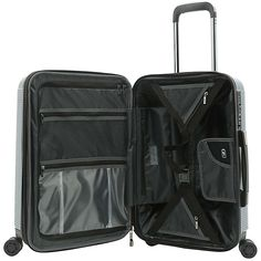 Latitude 40°N® Ascent 2.0 20-Inch Hardside Spinner Carry On Luggage | Bed Bath & Beyond Hardside Spinner Luggage, Combination Locks, Carry On Luggage, Taupe, Abs, Wheels, Handle, Tech Support, Wallets