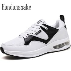 bfa20dd02313e Hundunsnake White Sneakers Women s Leather Running Shoes For Men 2017  Krasovki Ladies Shoes Sport Female Cushioning