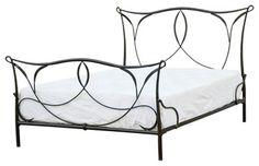 Sienna Iron Bed, Queen - mediterranean - Beds - Masins Furniture