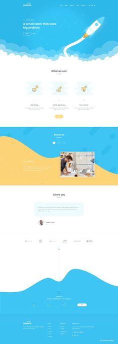 插画网页设计