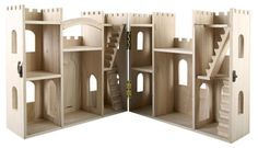 DIY Gift on a Budget: Make your own Wood Castle Dollhouse…