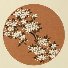 伊藤若冲『やまざくら』-木版画(額装もできます) - 京都 木版画の販売 Winds!芸艸堂(うんそうどう)/Ukiyo-e, Woodblock print - Winds! UNSODO
