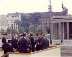 The History Place - Great Speeches Collection: John F. Kennedy Speech - Ich bin ein Berliner-President Kennedy arrived in West Berlin on June 26, 1963, following appearances in Bonn, Cologne and Frankfurt, where he had given speeches to huge, wildly cheering crowds. In Berlin, an immense crowd gathered in the Rudolph Wilde Platz near the Berlin Wall to listen to the President who delivered this memorable speech above all the noise, concluding with the now-famous ending.