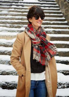 Three ways to tie a scarf   A CUP OF JO   Bloglovin'