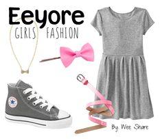 Disney Inspired Girls Fashion- Eeyore Look