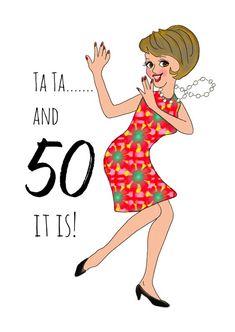Happy 50th Birthday Wishes, Birthday Qoutes, Happy Birthday Woman, Happy Birthday Posters, Happy Birthday Wallpaper, Happy Birthday Celebration, Birthday Blessings, Happy Wishes, Happy Birthday Images