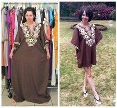 From Caftan to Mini Dress!