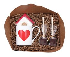 Love Mug Gift Kit - Ticket Chocolate - $23.00 - domino.com