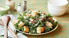 10 Copycat Sweetgreen Recipes | You need the Kale Caesar Salad in your life.