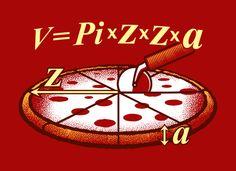 Volume do cilindro acaba em pizza