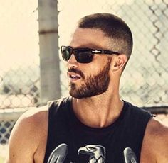 Ideas For Quotes Short Girls Shirts Beard Styles For Men, Hair And Beard Styles, Short Hair Styles, Short Hair With Beard, Stubble Beard, Beard Growth Oil, Great Beards, How To Look Handsome, Trending Hairstyles