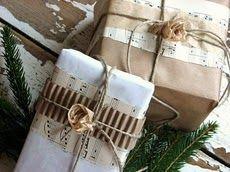 pretty gift wrap...