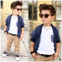 Little Boys with swagger = goals for my little guy. He'll look super posh, but…
