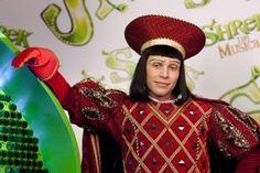 Neil McDermott as Lord Farquaad Shrek Costume, Costumes, Costume Ideas, Lord Farquaad Costume, Court Jester, Christmas Sweaters, Musicals, Captain Hat, Husband