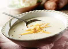 In this artical you will know how to make Cheddar And Cauliflower Soup recipe. And what are the tips and tricks to cook Cheddar And Cauliflower Soup recipe. Cauliflower Cheddar Soup, Cheddar Soup Recipe, Cauliflower Soup Recipes, Broccoli Soup, Fresh Salad Recipes, Oven Baked Chicken, Soup And Sandwich, Soup And Salad, The Best