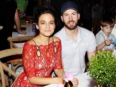 Chris Evans and Jenny Slate at Secret Life of Pets Premiere...adorable couple