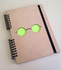 Wood Notebook, spiral notebook, cute diary, small sketchbook, memory book,best friend journal, sketch book, scrapbook, book, diary, imagine 8,4x