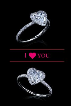 Are you GAGA for Lady Gaga's new engagement ring!? We are too!! If you want to wear your heart on your finger, check out this heart shaped engagement ring by Leon Megé.