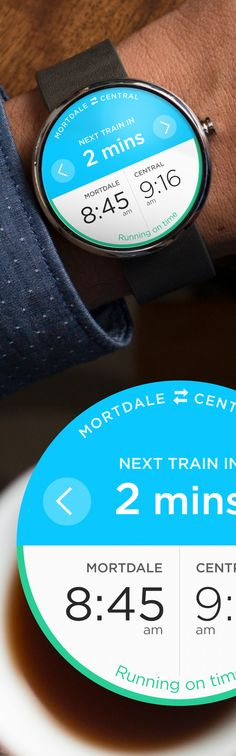 Trip Planner – Android Wear
