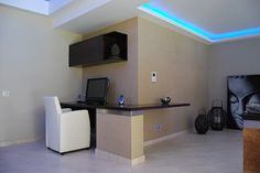 Interior design and reform including LED, custom furniture, integrated air conditioning, floor tiles and wall painting.