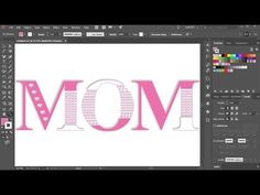 How to Create Decorative Text in Adobe Illustrator - YouTube