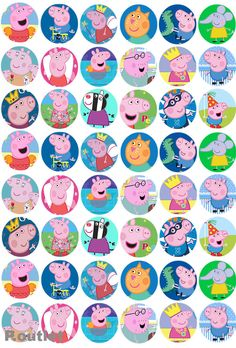 Ariane Carvalho's media content and analytics Fiestas Peppa Pig, Cumple Peppa Pig, Panda Birthday Party, Jungle Theme Birthday, Pig Crafts, Diy And Crafts, Invitacion Peppa Pig, Peppa Pig Printables, George Pig Party