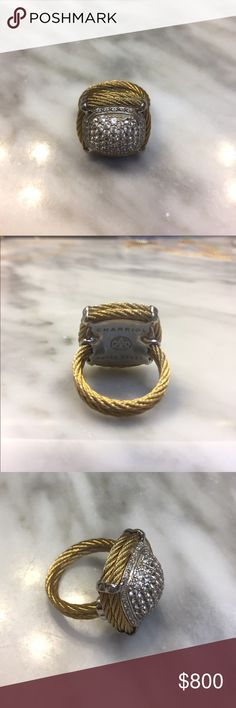 🚨📢FLASH SALE🚨📢🚨Charriol ring Charriol is the new David Yurman!!! Mint condition. Never worn. Gorgeous! Jewelry
