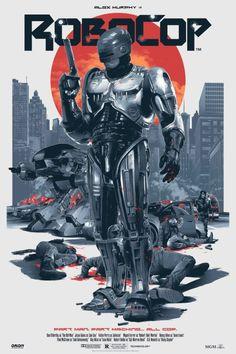 RoboCop by Grzegorz Domaradzki  Movie Poster Movement