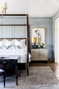 The Brinton - Alice Lane Home Interior Design Contemporary Bedroom, Modern Bedroom, Transitional Bedroom Decor, Modern Contemporary, Natural Bedroom, Bedroom Classic, Contemporary Kitchens, Transitional Style, Home Decor Bedroom