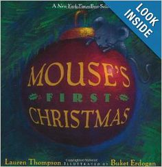 Looking for an engaging holiday read aloud for your preschool classroom? This heart-warming New York Times Bestseller explores Christmas through Mouse's eyes. Mouse's First Christmas By Lauren Thompson Christmas Books, First Christmas, Christmas Treats, Christmas Holidays, Christmas Ornaments, Preschool Books, Free Preschool, Preschool Lessons, Preschool Classroom
