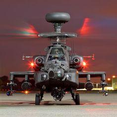 Apache AH1, 673 Squadron, AAC
