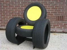 Recycled Furniture: 55+ Ideas Chairs, Ottoman And Tables Made From Tires http://oscargrantprotests.com/recycled-furniture-55-ideas-chairs-ottoman-tables-made-tires/