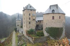 Een kasteel in Malmedy.